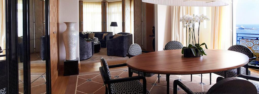MARTINEZ Cannes Suite des oliviers - salon