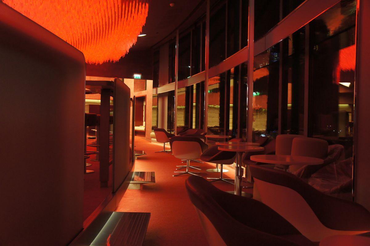 Bar Concorde Lafayette Paris - lumière bar
