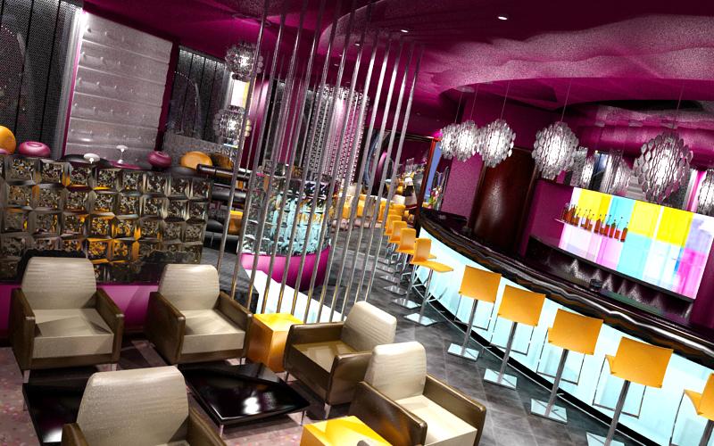 Magade - 3D Luxembourg Bar Projet
