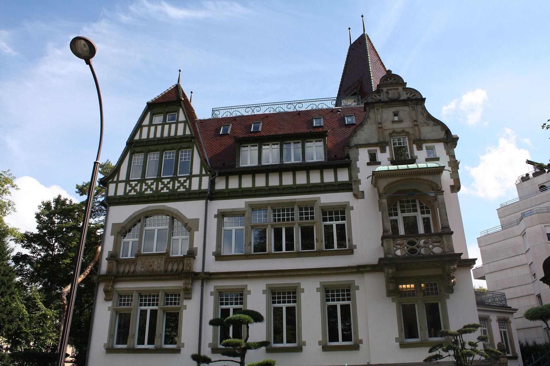 Le manoir du Contades – villa Osterloff